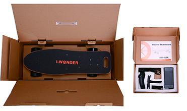 Free Standing Electric Moving Skateboard With 92.4Wh Li - Battery 760*260*140mm