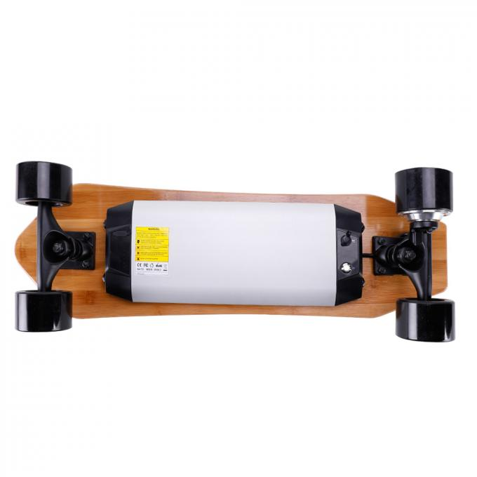 Durable Custom Electric Skateboard , Brushless Motor Battery Charged Skateboard