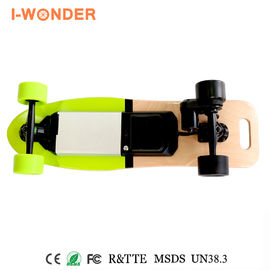 Swappable Battery Battery Powered Longboard DC Brushless Motor With Hall Sensor