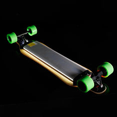 China Fashion Brushless Twin Hub Motor Electric Longboard 4 Wheel 237.6Wh Battery supplier