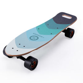 Single Hub Motor High Powered Electric Skateboard With 92.4Wh Lithium Ion Battery