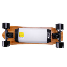 China Durable Hand Free Riding Electric Skateboard , Motorised Booster Board Skateboard supplier