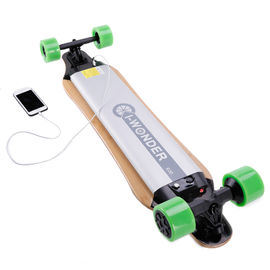 Long Board Electric Penny Board With 237.6Wh Lithium Ion Battery , 28km Max Range