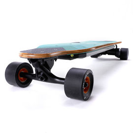 Led Light Dual In Wheel Electric Powered Longboard SK-E2 Hub Motors For Young