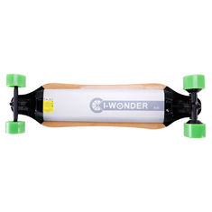 Safety Adult Electric Skateboard No Noise Pollution With Built - In Safety Lights