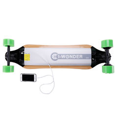 China Electric Remote Powered Skateboard Balancing Four Wheel Hoverboard 28 Km Max Range supplier