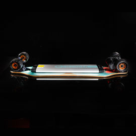 Long Range Electric Skateboard For Adults , Motorized Longboard Skateboard 4 Wheel
