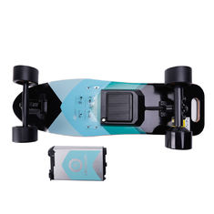 High Powered Electric Skateboard Trucks 9 Layers Maple Deck Material , 100kg Max Load