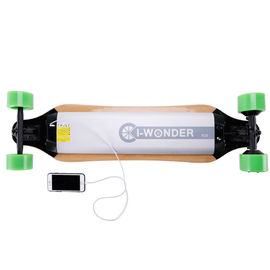 China Electric Remote Powered Skateboard Balancing Four Wheel Hoverboard 28 Km Max Range factory